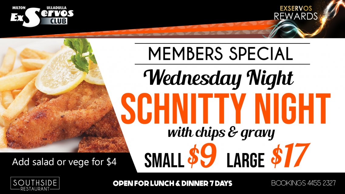 Wednesday Night Schnitty Night