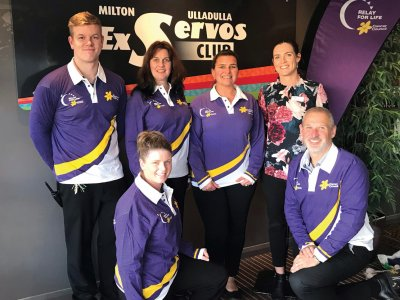Relay For Life and the Milton Ulladulla ExServos Club