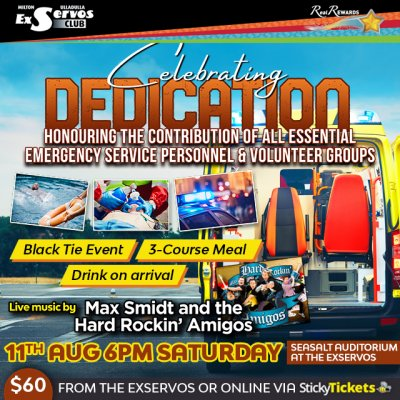 Celebrating Dedication with Max Smidt & The Hard Rockin
