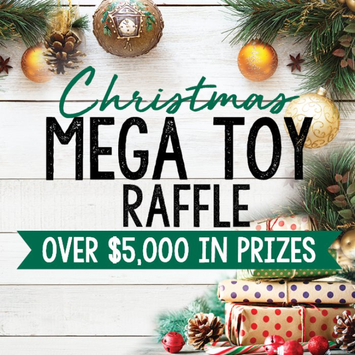 Christmas Mega Toy Raffle